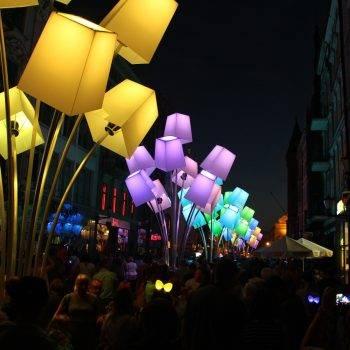 festiwal światła Toruń