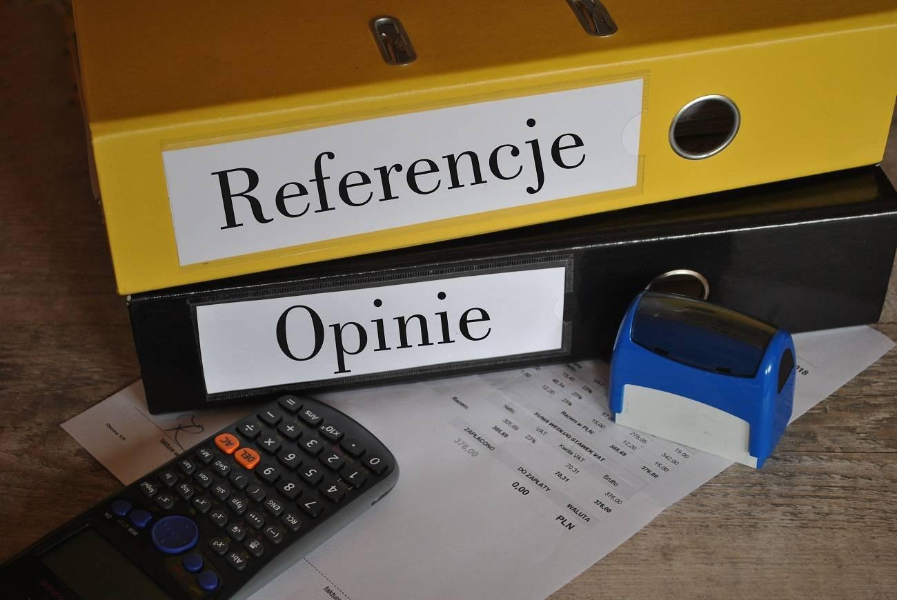 Referencje – czym są, co zawierają, jak napisać, wzór